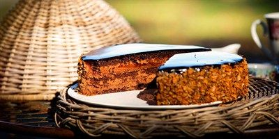 Try this Chocolate Dacquoise recipe by Chef Matt Moran.This recipe is from the show The Great Australian Bake Off.