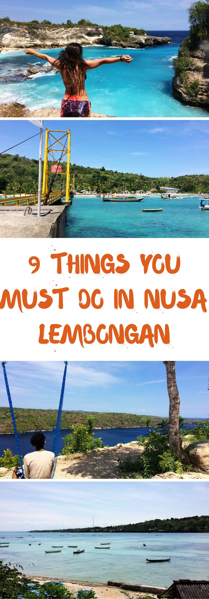 If you are traveling to Bali you must visit Nusa Lembongan! It is an island that is just 30 minutes away and it is truly amazing. Read this travel guide on what to do and see in Nusa Lembongan before you go!