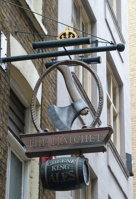 Hatchet, London EC4 | Flickr: Intercambio de fotos