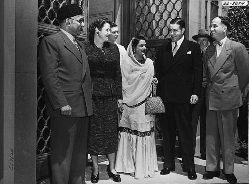 Prime Minister Liaquat Ali Khan of Pakistan and his wife, Begum Ra'ana Liaquat Ali Khan
