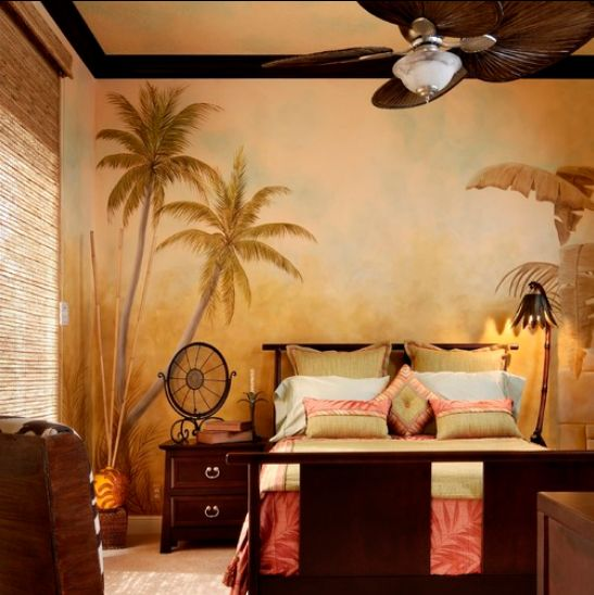 17 best images about tropical bedroom decor on pinterest for Hawaiian themed bedroom designs