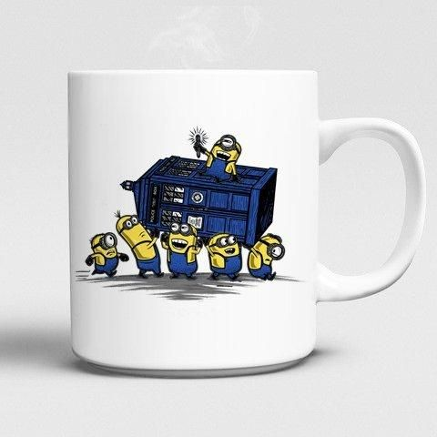 Doctor Who & Minions Coffee Cup