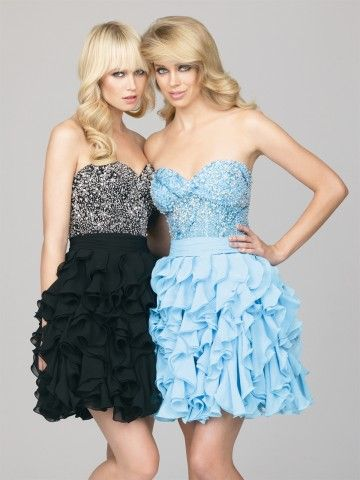 2012 Style A-line Sweetheart  Beading  Sleeveless Short / Mini  Chiffon Cocktail Dress / Homecoming Dress (SZ0241701 )