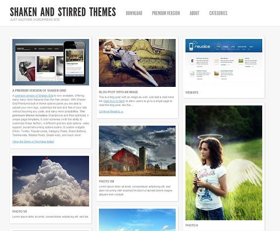 This free WordPress theme includes your choice of a dark or light colour scheme, an easy to use theme options panel, progressive enhancement, a widgetized sidebar, and more.