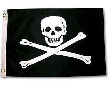 Skull & Crossbones Flag- Captain Woody's Locker-$11