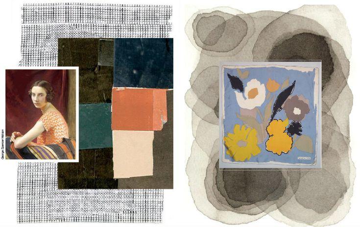 Le tendenze primavera estate 2018 - New portraits - Il ritratto di un sogno. Colori come esseri viventi, veri abitanti dello spazio. Spazio che si colora di emozione con pennelli intinti nell'anima