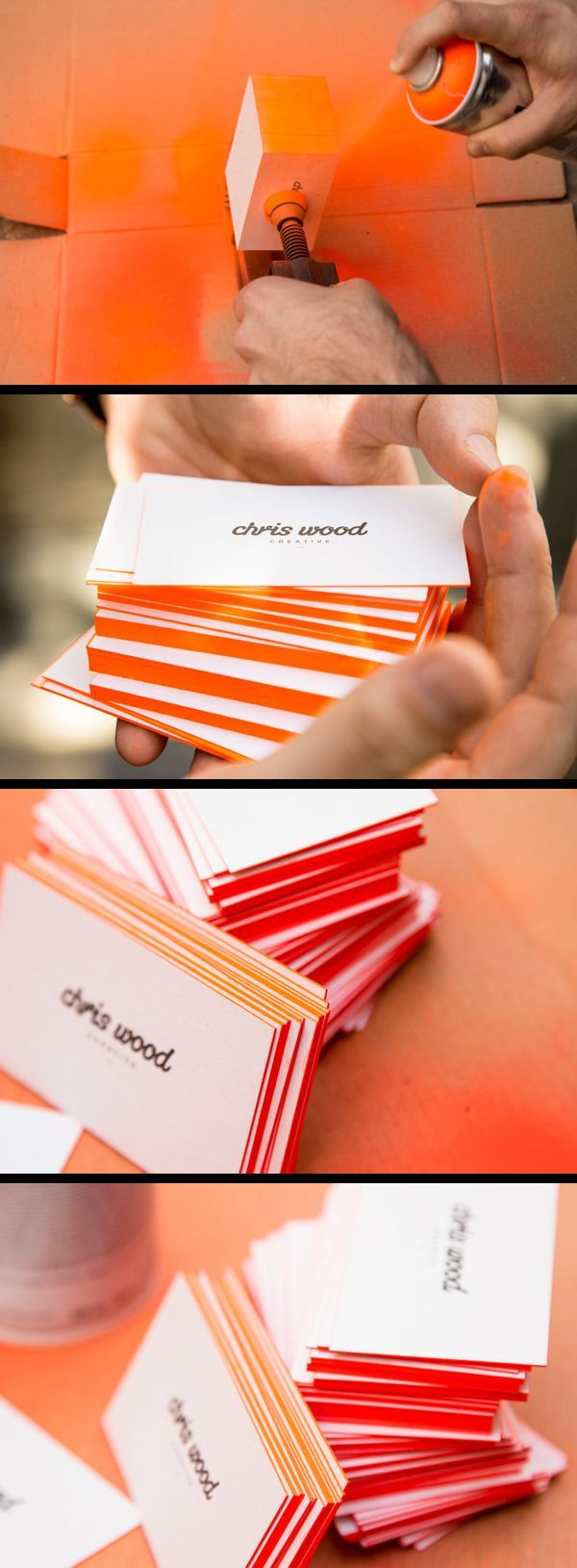 Inspirations graphiques carte de visite : Chris Wood | Branding
