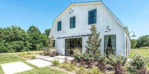This Barndominium From Fixer Upper is Now Available to Rent — Waco, Texas Home Rentals