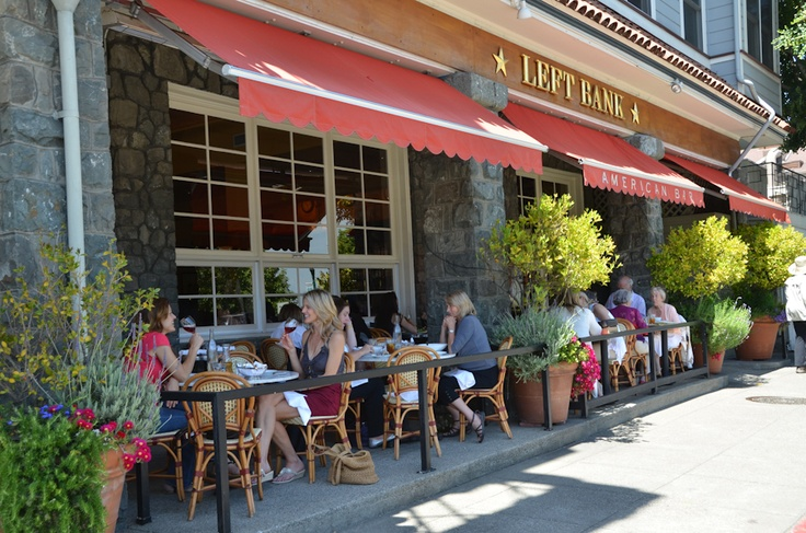Scrumptious food and sunshine on the patio! Nothing better.