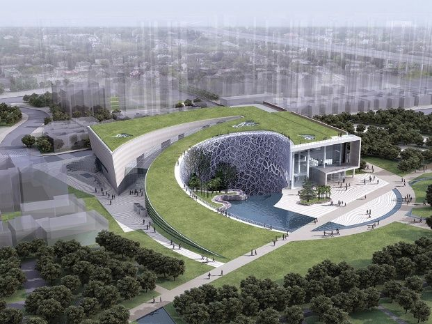 Shanghai natural history museum google zoeken some for Pool design dessau