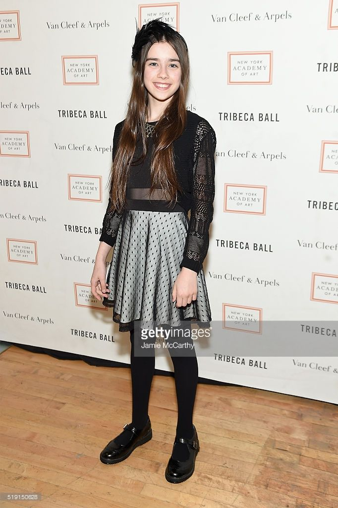 Actress Sterling Jerins attends New York Academy Of Art's Tribeca Ball 2016 on April 4, 2016 in New York City.