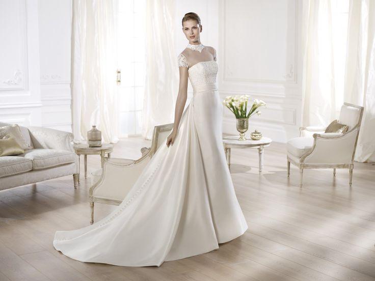 Onora - Pronovias 2014 - Esküvői ruhák - Ananász Szalon - esküvői, menyasszonyi és alkalmi ruhaszalon Budapesten