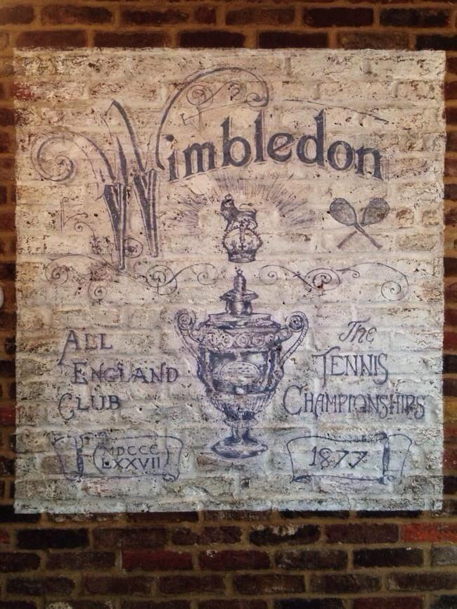 Wimbledon ghost sign