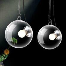 Современный Итальянский стиль мыльный пузырь СВЕТОДИОДНЫЙ дизайн Кулон Lighst лампы Ac-90-260v стеклянные светильники для кровать кухня бар(China (Mainland))