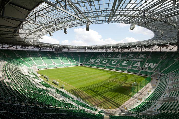 Football stadium in Wrocław | Poland © Piotr Krajewski pkrajewski.pl