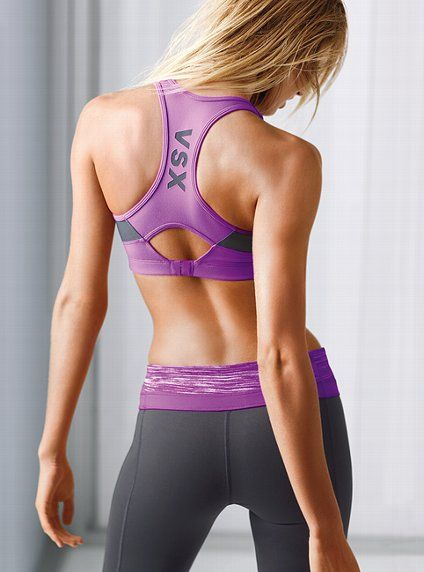 VSX Incredible sports bra, just as great as under armour but way cuter!