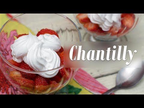 Como fazer Chantilly Vegano - YouTube
