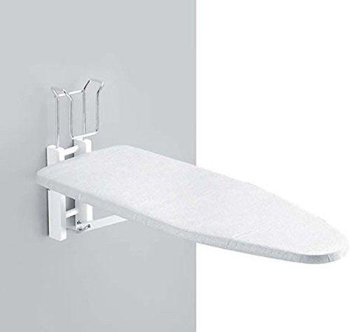 Une table à repasser murale - un meuble pratique pour aménager une buanderie sans perdre de place    http://www.homelisty.com/buanderie/