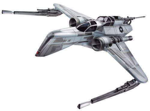 2009 Clone Wars Vehicle Boxed ARC-170 Fighter