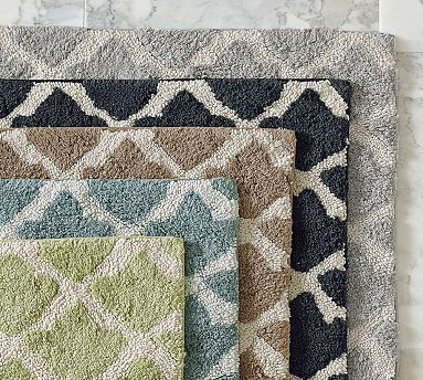 Marlo Bath Rug #potterybarn master bath rugs