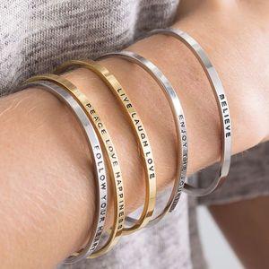 Mantra Bangle - gifts for teenage girls