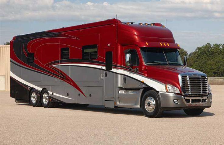 Custom Luxury Motor Homes Sportdecks Trailers Renegade Rv Motorhomes Rvs Pinterest