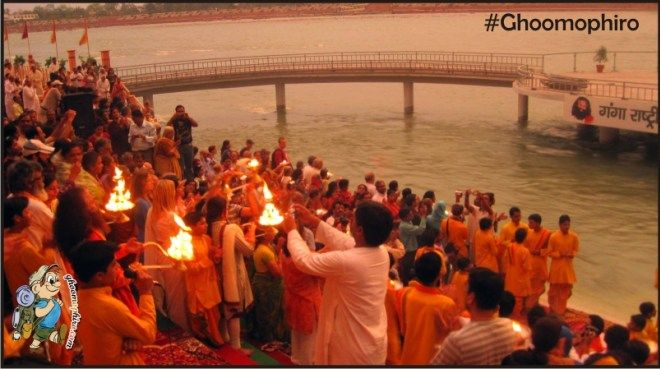 I have been blessed to attend #GangaAarti at Parmarth Niketan Ashram, Rishikesh with Pujya Swami Chidanand Saraswati. There are 5 other places where you can do Ganga Aarti. #chidanandSaraswati #rishikesh #gangaarti #spiritualprana #Sujayhande