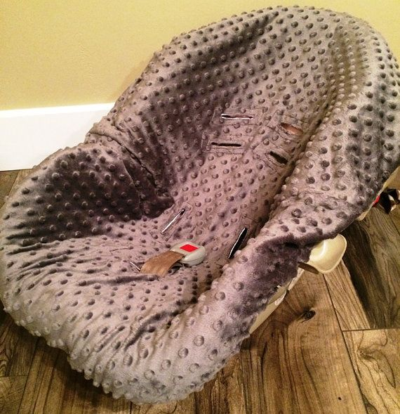Infant Car Seat Cover YOU pick color by SooShabbyChic on Etsy, $32.99