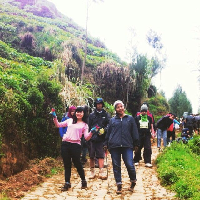 #2565mdpl #hiking #central java… by @mellamoonz - Square Pics