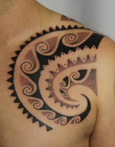 17 best images about maori art on pinterest japanese koi for 2 dot tattoo meaning