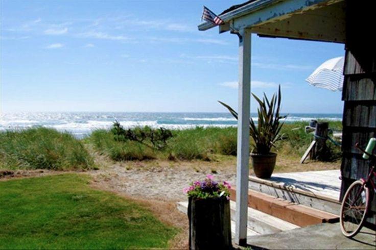 Rockaway Beach Vacation Rental - VRBO 376776 - 2 BR Northern Coast House in OR, Oceanfront Beach Cottage - Rockaway Beach