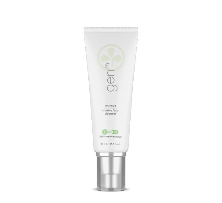 Zija's Creamy Face Cleanser gently massages away dead skin cells while removing excess dirt and oil—leaving your skin feeling vibrant and refreshed. It's also effective as a makeup remover and shaving cream. Includes: 1 tube of GenM Creamy Face Cleanser (3 oz). #genmskincareline #naturalfacecleansers #allnaturalskincareproducts #skincare