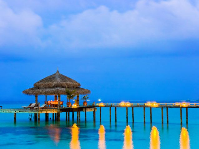 Spoil yourselves at a luxury resort