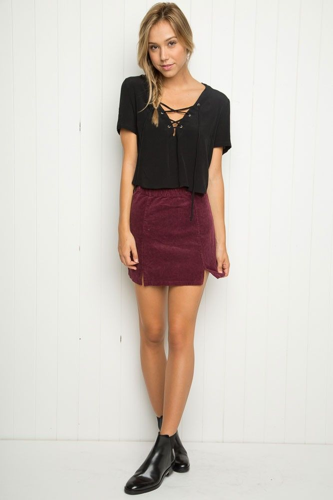Brandy ♥ Melville | Meana Skirt - Just In | attire ...