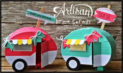 Mini Camper Tutorial available now in the new Whole Lotta Love Project Planner Valentines 2014 at Pink Buckaroo Designs