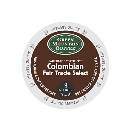 Keurig, Green Mountain Coffee, Colombian Fair Trade Select, K-Cup packs, 72 Count - http://teacoffeestore.com/keurig-green-mountain-coffee-colombian-fair-trade-select-k-cup-packs-72-count/