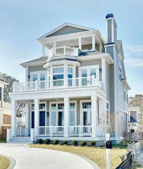 Costal home or narrow lot.