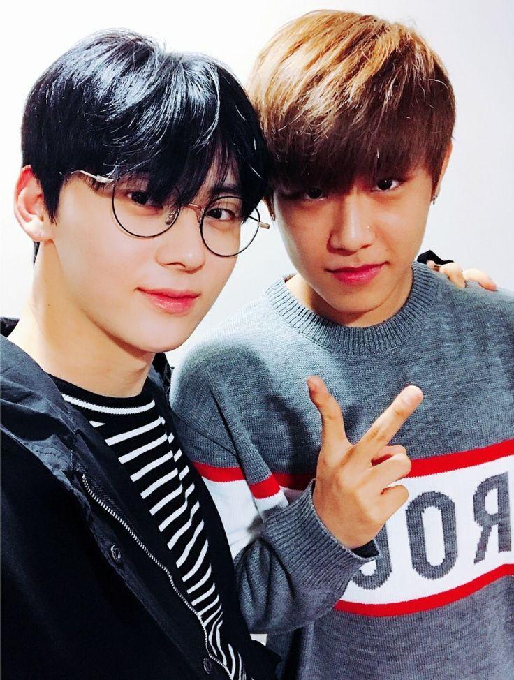 Minhyun & woojin