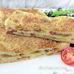 pastel de pan de molde caramelizado