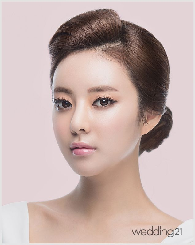 hair styles to wear to a wedding 44 best 웨딩헤어메이크업 wedding hair amp makeup images on 7473