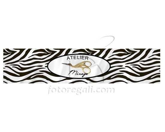 Texture zebrata per la sciarpa in pile