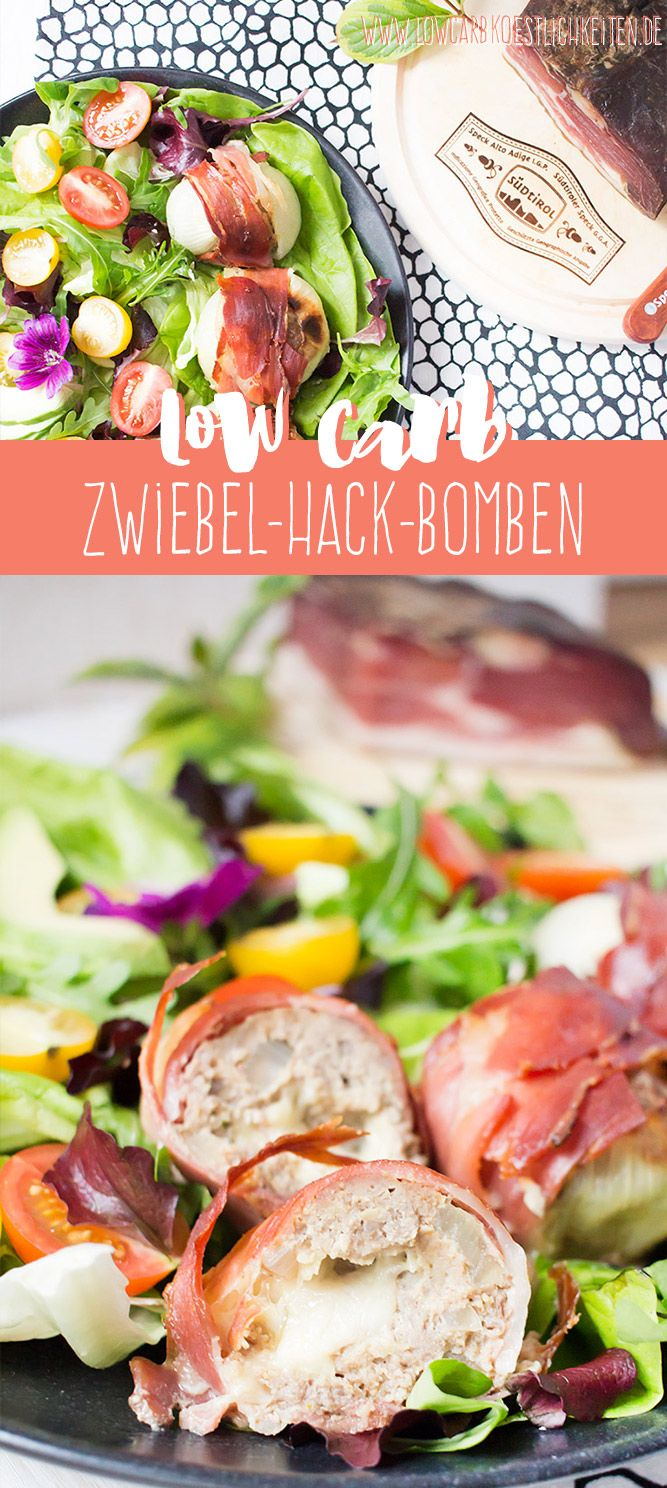 Low Carb Zwiebel-Hack-Bomben in Kooperation mit Südtiroler Speck g.g.a www.lowcarbkoestlichkeiten.de