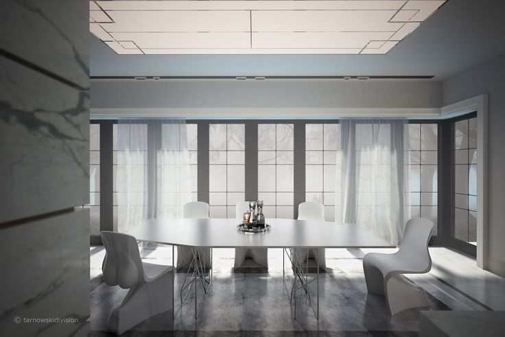 HOUSE INTERIOR. DINING ROOM. designed by tarnowskidivision