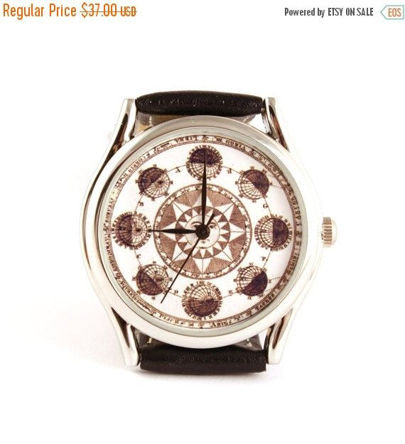 25% OFF ON SALE Astrology astonomy watch, zodiac watch, Vintage Style Leather Watch, Women Watches by spacewatches on Etsy https://www.etsy.com/listing/214093831/25-off-on-sale-astrology-astonomy-watch