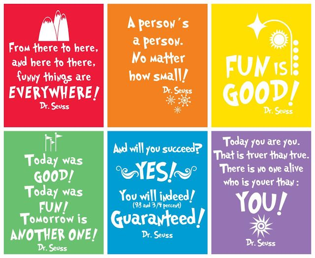 Dr. Seuss Pictures to Print   Cli ck here for the link to print!
