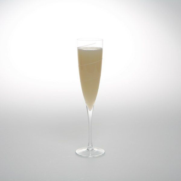 """Camper English, a San Francisco–based writer, developed this adaptation of a classic drink recipe to showcase the use of absinthe, but Ernest Hemingway gets credit for the recipe. His advice, circa 1935: """"Pour one jigger absinthe into a Champagne glass. Add iced Champagne until it attains the proper opalescent milkiness. Drink three to five of these slowly."""" We recommend drinking fewer than five. You may also try pouring the absinthe on top instead—some brands of absinthe will floa..."""