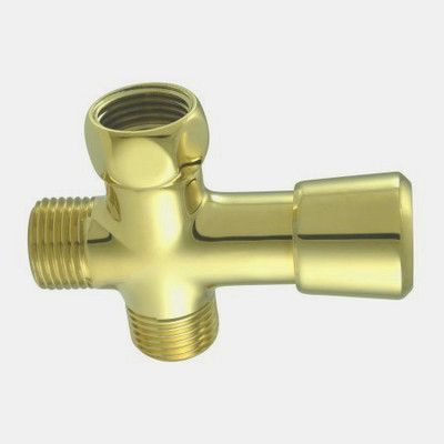 elements of design shower diverter finish polished brass - Shower Diverter