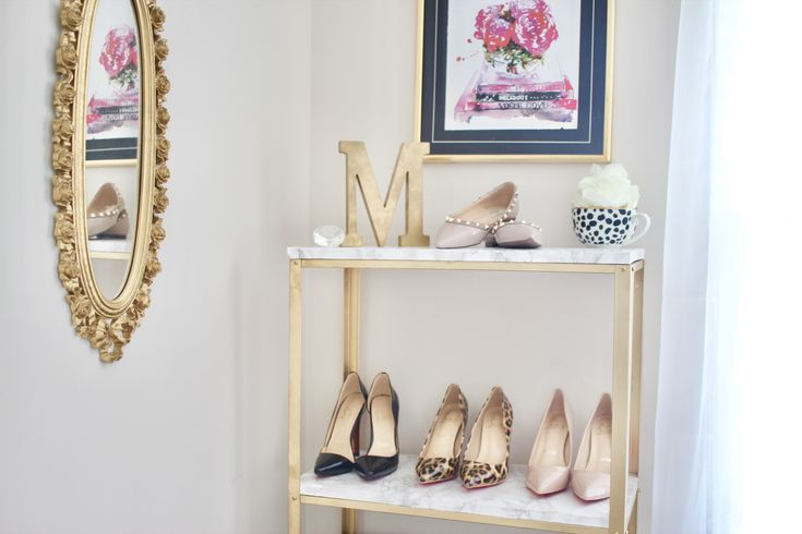 17 Best Ideas About Gold Shelves On Pinterest