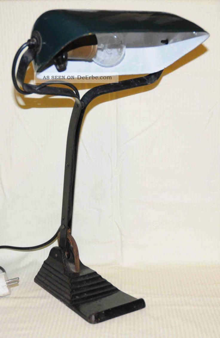 Epic Horax Banker Lampe Bauhaus Antike Originale vor Bild