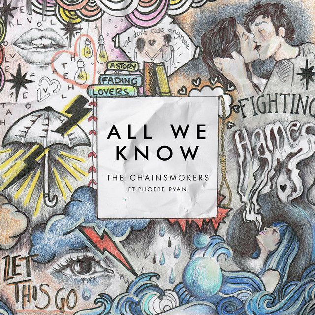 """""""All We Know"""" by The Chainsmokers Phoebe Ryan #Music #MusicHits"""